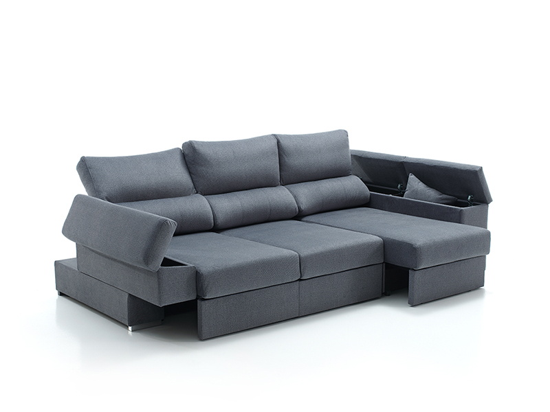 chaise longue luxer abierto